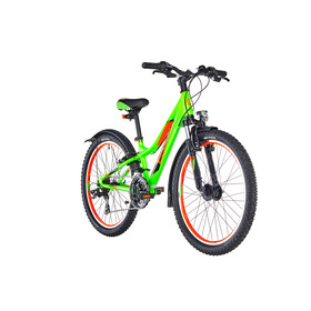 s'cool troX urban 24 21-S - Vélo enfant - vert